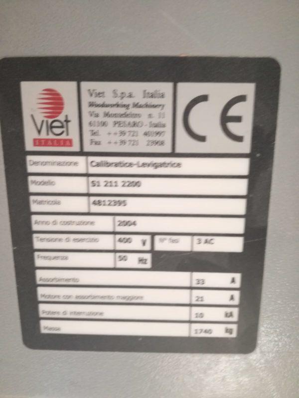 masina de calibrat firma viet s 1-211 latimea 1100 cu doua role -4